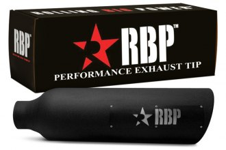 RBP® - Magnum SS Heat Treated Black Coating Tip with Logo