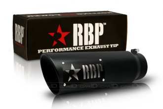RBP® - SS Heat Treated Black Coating Turbo Tip with Logo