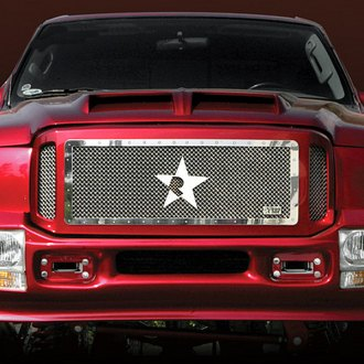 RBP® - 3-Pc RX Series Chrome Mesh Main Grille