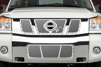 RBP® - 3-Pc RX Series Chrome Mesh Grille