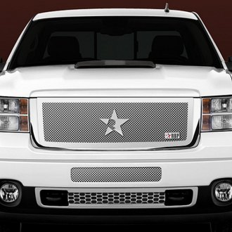 RBP® - 1-Pc RL Series Chrome Mesh Grille with Plain Frame