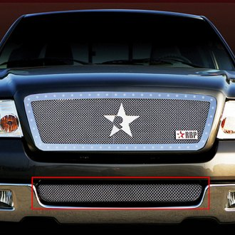 RBP® - 1-Pc RL Series Chrome Bumper Grille