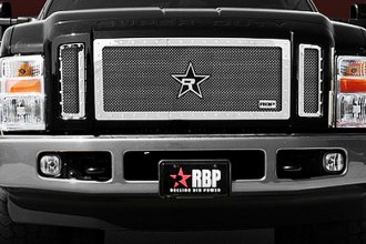 RBP® - 3-Pc RX-5 HALO Series Chrome Mesh Grille