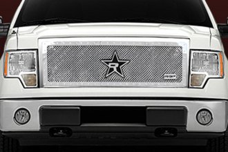 RBP® - 1-Pc RX-5 HALO Series Chrome Mesh Grille