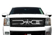 RBP® - 1-Pc RX-4 Series Black Mesh Grille