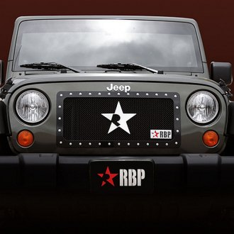 RBP® - RX Series Black Mesh Main Grille with Studded Frame
