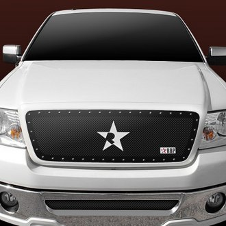 RBP® - 1-Pc RX Series Black Mesh Grille