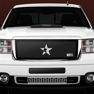 RBP® - RL Series Black Mesh Grille with Plain Frame