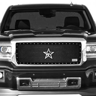 RBP® - RX-5 HALO Series Black Mesh Grille with Studded Frame