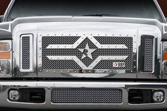 RBP® - 3-Pc RX-2 Series Chrome Mesh Grille