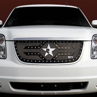 RBP® - 1-Pc RX-2 Series Black Mesh Grille