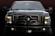 RBP® - 3-Pc RX-2 Series Black Mesh Grille