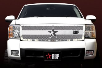 RBP® - RX-3 Series Chrome Mesh Grille - 1500