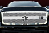 RBP® - RX-3 Series Chrome Mesh Grille - 2500HD / 3500