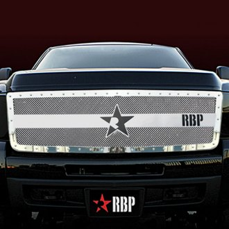 RBP® - RX-3 Series Chrome Mesh Grille - 2500 HD / 3500