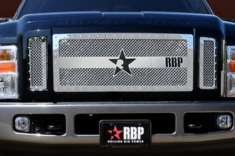 RBP® - 3-Pc RX-3 Series Chrome Mesh Grille