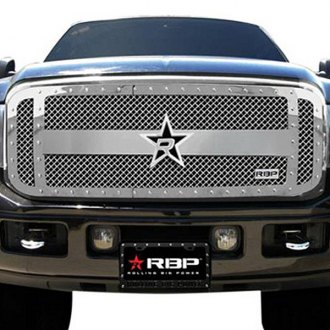 RBP® - 1-Pc RX-3 Series Chrome Mesh Grille