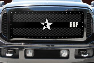 RBP® - 3-Pc RX-3 Series Black Mesh Grille