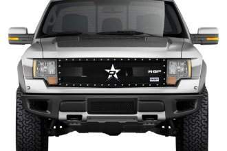 RBP® - 1-Pc RX-3 Series Black Mesh Grille