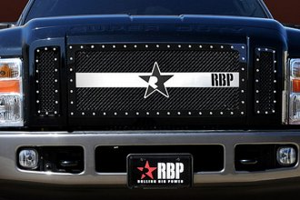 RBP® - 3-Pc RX-3 Series Black and Chrome Mesh Grille