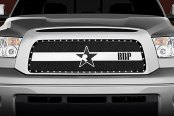 RBP® - RX-3 Series Black and Chrome Mesh Main Grille