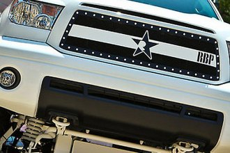 RBP® - RX-3 Series Black and Chrome Mesh Grille