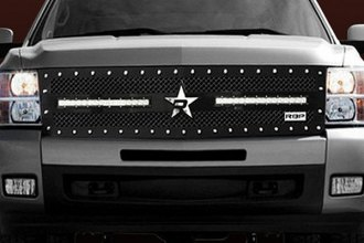 RBP® - 1-Pc RX-3 LED S-Series Black Mesh Grille