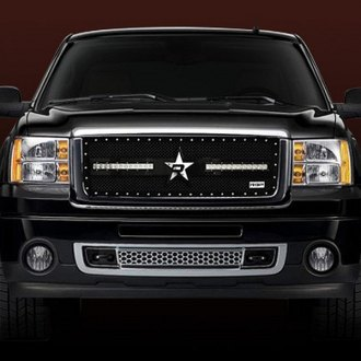 RBP® - 1-Pc RX-3 LED S-Series Black Mesh Main Grille
