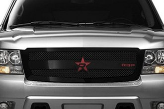 RBP® - 1-Pc RL-3 Series Gloss Black Mesh Grille
