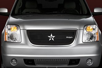RBP® - 1-Pc RL-3 Series Satin Black Mesh Grille