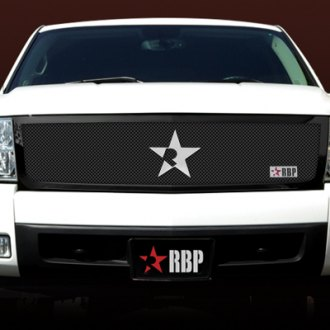 RBP® - 1-Pc RL Series Black Dual Weave Mesh Grille