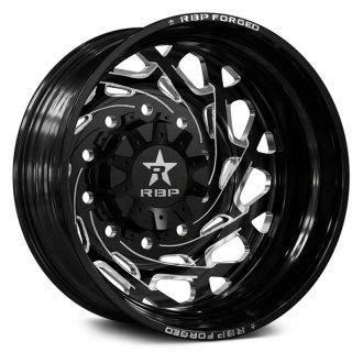 26 Inch Dually Wheels Hd Truck Custom Black Chrome Carid Com