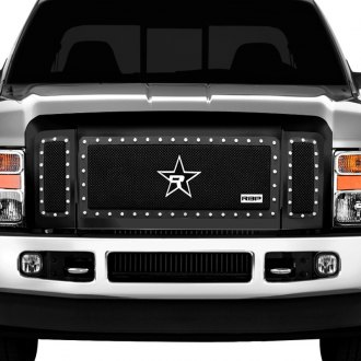 RBP® - 3-Pc NDX Series Black Dual Weave Mesh Grille