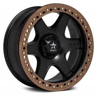 RBP® - 50R COBRA BEADLOCK Black with Bronze Beadlock