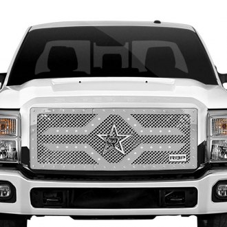 RBP® - 1-Pc RX-2 Series Chrome Dual Weave Mesh Main Grille