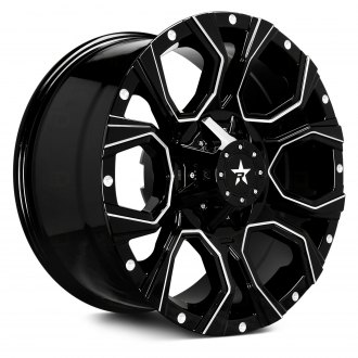 RBP® - 64R WIDOW Black with CNC Machined Grooves