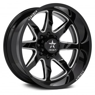 RBP® - 81R SAHARAN Gloss Black with Milled Accents