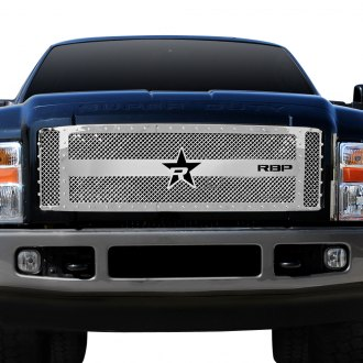 RBP® - 3-Pc RX-3 Series Chrome Dual Weave Mesh Main Grille