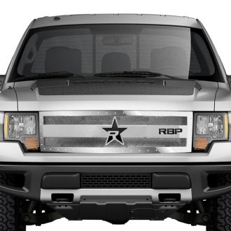 RBP® - 1-Pc RX-3 Series Chrome Dual Weave Mesh Grille