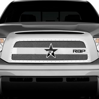 RBP® - 1-Pc RX-3 Series Chrome Dual Weave Mesh Main Grille