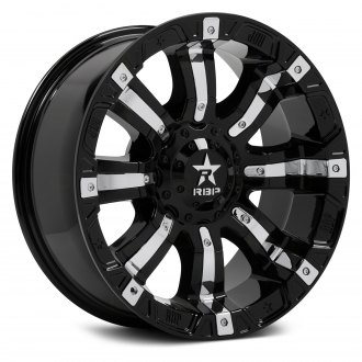 RBP® - 94R Black with Chrome Inserts
