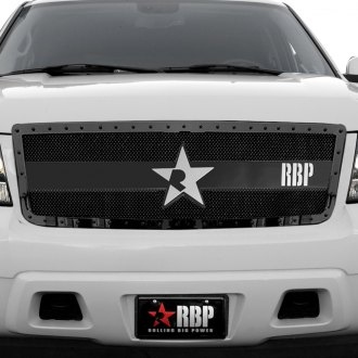 RBP® - 1-Pc RX-3 Series Black Dual Weave Mesh Main Grille