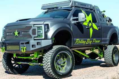 "RBP® Super Duty with 13"" Max Altitude Lift Kit (HD)"