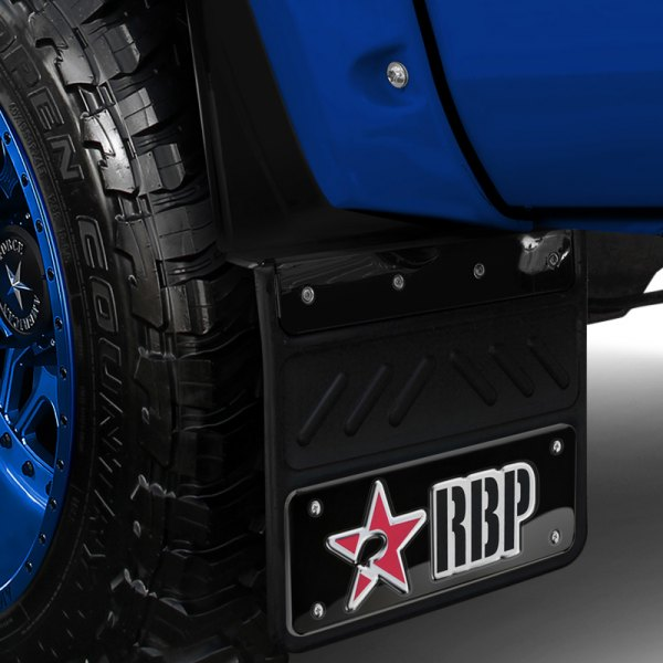 "Image may not reflect your exact vehicle! RBP® - Mud Flaps 12.5"", No Offset"