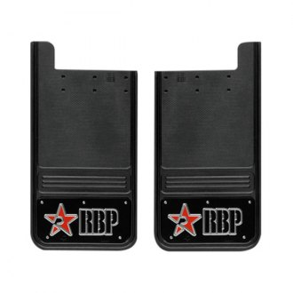 RBP® - Mud Flap with Logo on Black Background