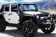 RBP® - 97R Flat Black on Jeep Wrangler