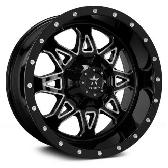 RBP® - 79R ASSAULT Black with CNC Machined Grooves