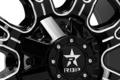 RBP® - ASSASSIN-2 Gloss Black with Machined Accents Close-Up