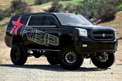RBP® - ASSASSIN-2 Gloss Black with Machined Accents on GMC Yukon