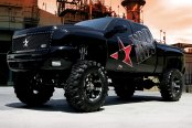 RBP® - 95R Black with Machined Face and Lip on Chevy Silverado